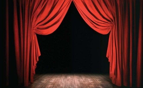 Empty Stage --- Image by © William Whitehurst/CORBIS